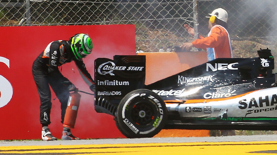 Nico Hülkenberg - Force India - GP Spanien 2016