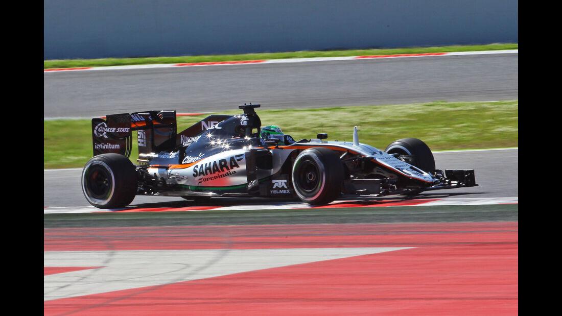 Nico Hülkenberg - Force India - GP Spanien 2016 - Barcelona - F1 - Freitag - 13.5.2016