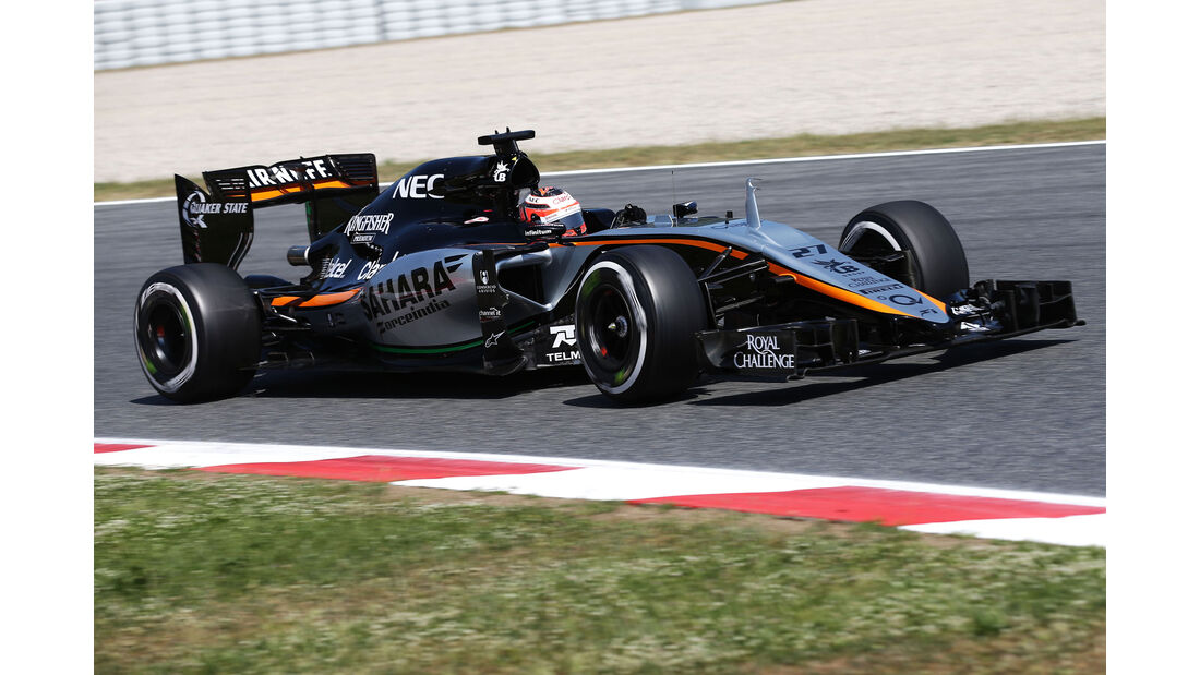 Nico Hülkenberg - Force India - GP Spanien - Qualifying - Samstag - 9.5.2015