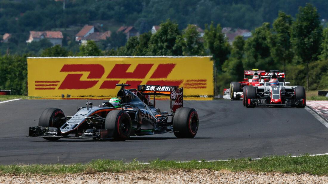 Nico Hülkenberg - Force India - GP Ungarn 2016 - Budapest