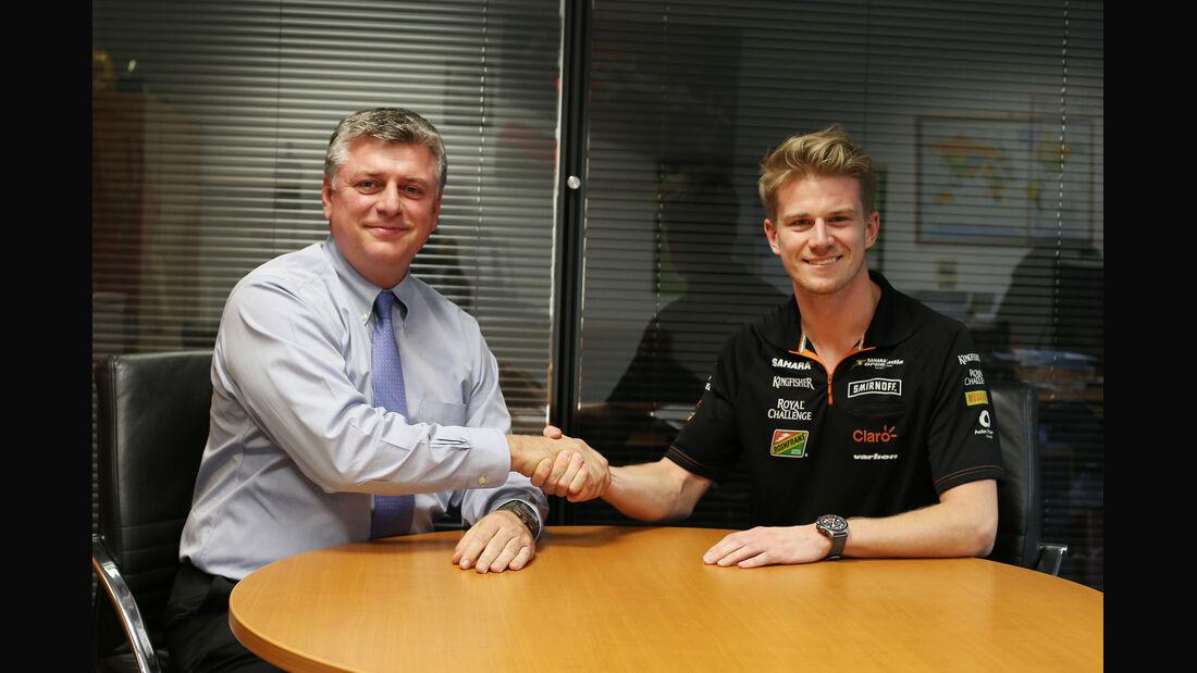 Nico Hülkenberg - Force India - Otmar Szafnauer