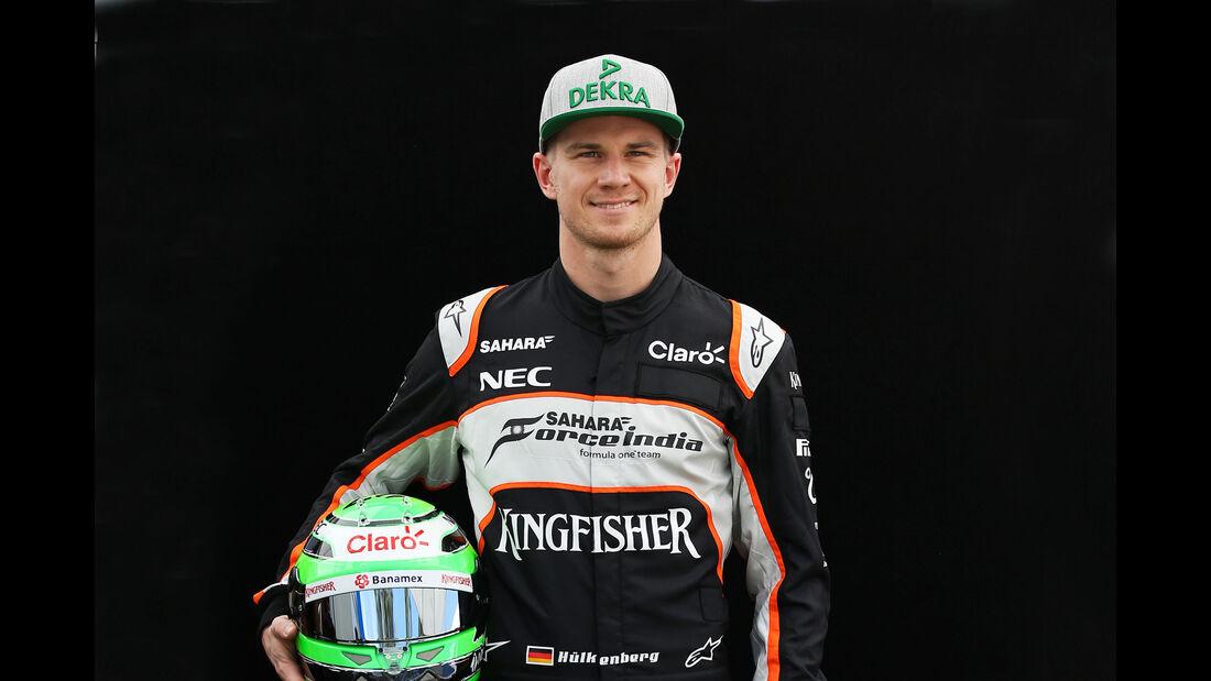 Nico Hülkenberg - Force India - Porträt - Formel 1 - 2016