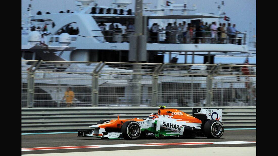 Nico Hülkenberg - Formel 1 - GP Abu Dhabi - 02. November 2012