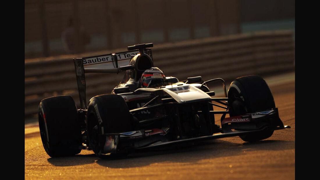 Nico Hülkenberg - Formel 1 - GP Abu Dhabi - 02. November 2013