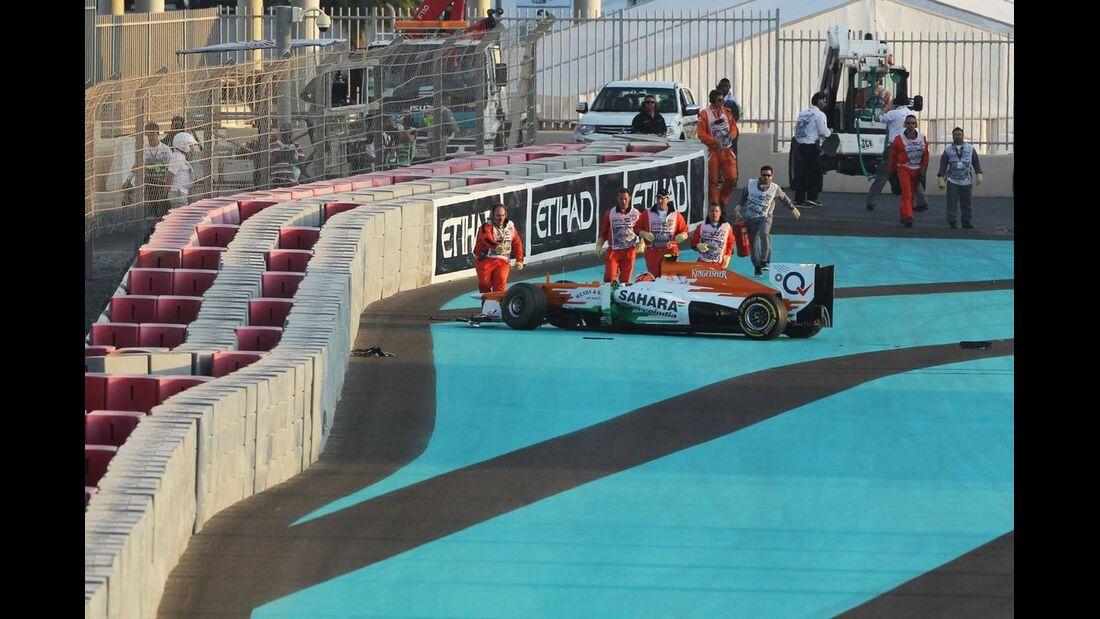Nico Hülkenberg  - Formel 1 - GP Abu Dhabi - 04. November 2012