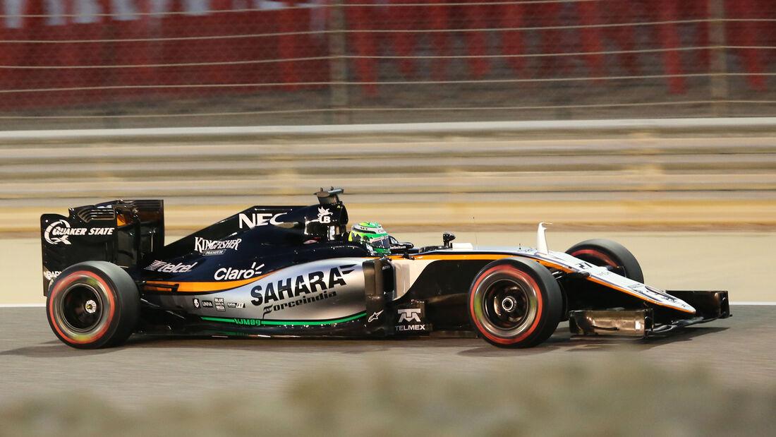 Nico Hülkenberg - Formel 1 - GP Bahrain - 2. April 2016