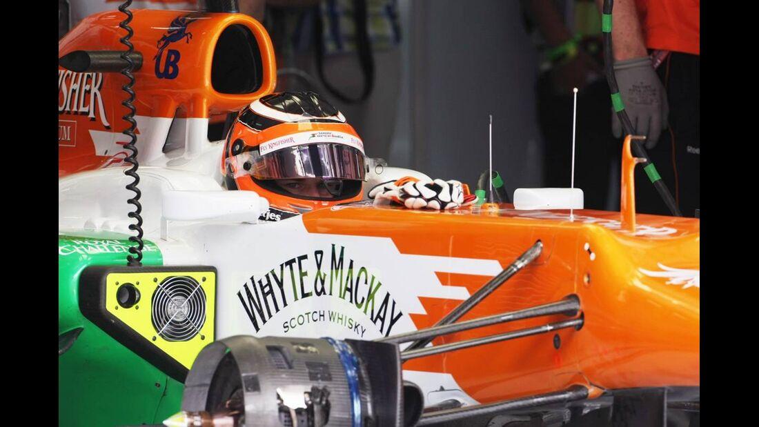 Nico Hülkenberg - Formel 1 - GP Bahrain - 21. April 2012