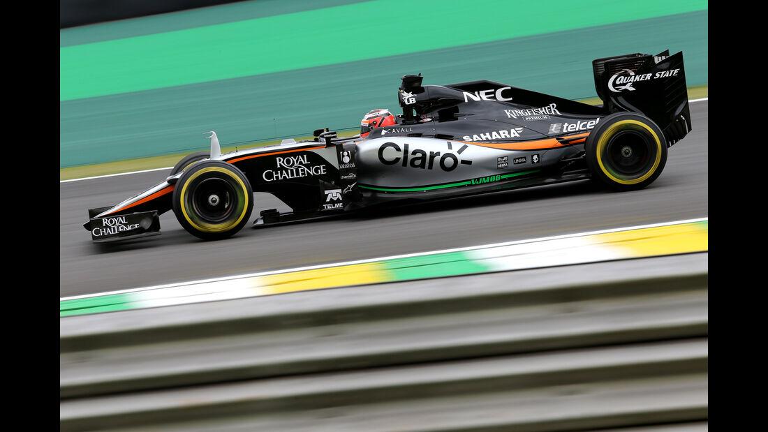 Nico Hülkenberg  Formel 1 - GP Brasilien- 13. November 2015