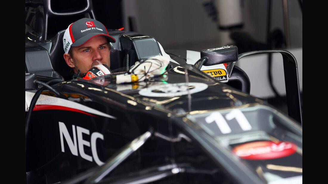 Nico Hülkenberg - Formel 1 - GP China - 13. April 2013