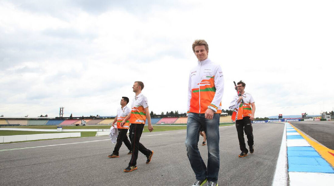 Nico Hülkenberg  Formel 1 - GP Deutschland - 19. Juli 2012
