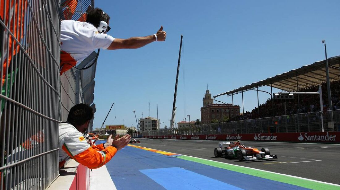 Nico Hülkenberg  - Formel 1 - GP Europa - 24. Juni 2012
