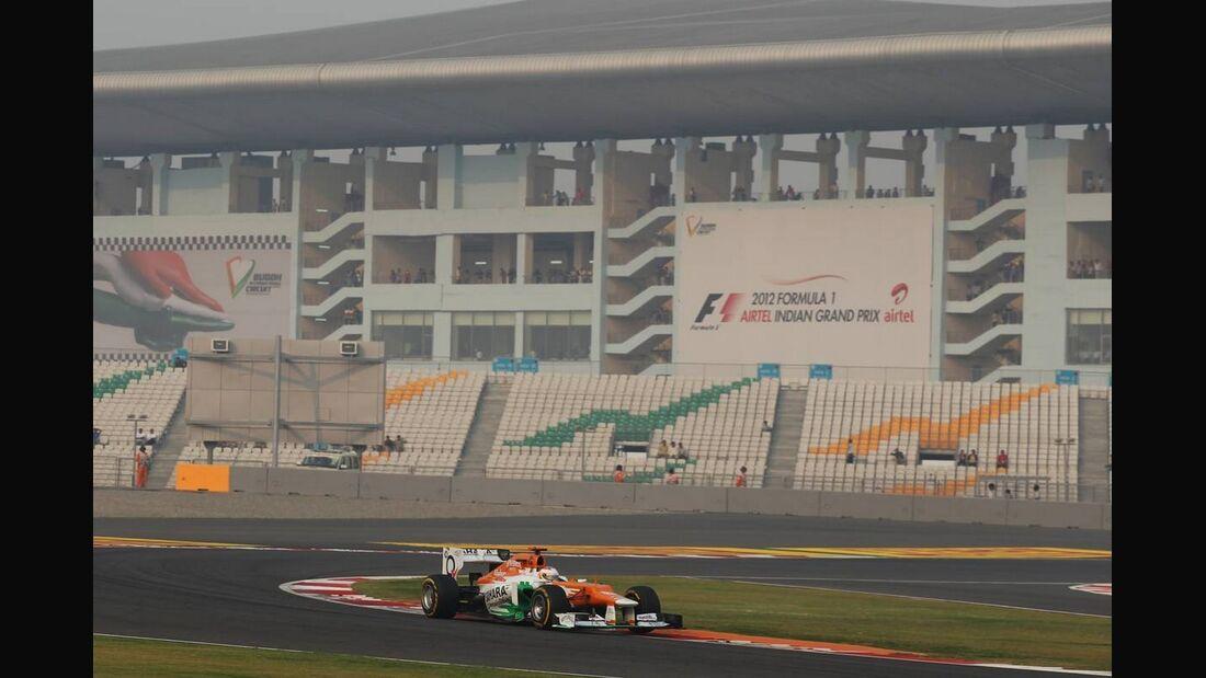 Nico Hülkenberg  - Formel 1 - GP Indien - 28. Oktober 2012