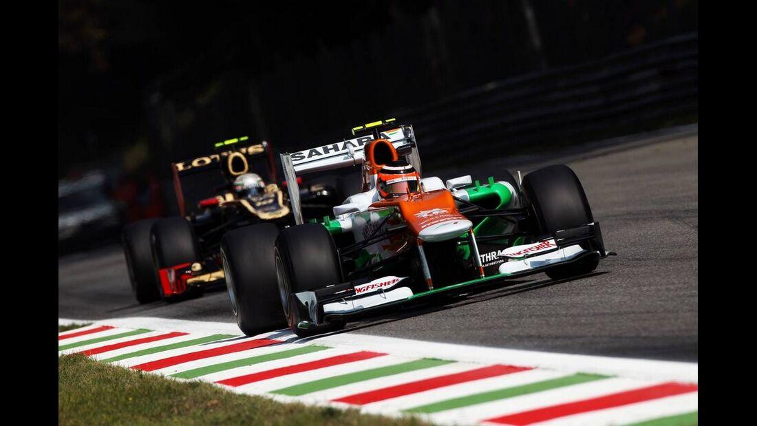 Nico Hülkenberg - Formel 1 - GP Italien - 07. September 2012