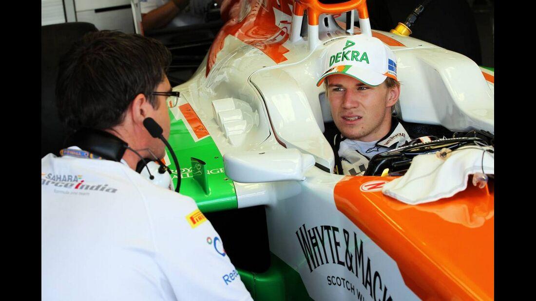 Nico Hülkenberg - Formel 1 - GP Italien - 08. September 2012