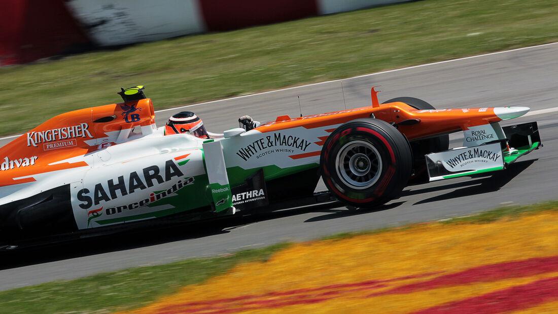 Nico Hülkenberg - Formel 1 - GP Kanada 2012