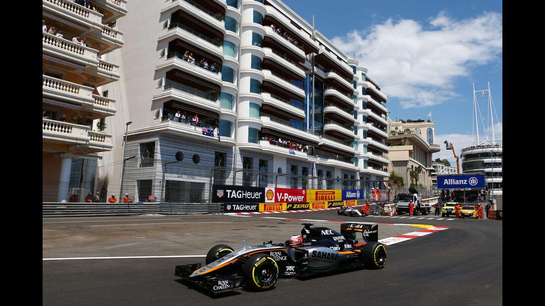 Nico Hülkenberg  - Formel 1 - GP Monaco - Sonntag - 24. Mai 2015