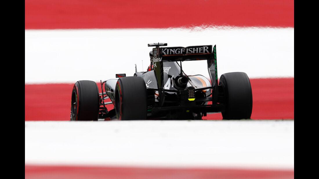 Nico Hülkenberg - Formel 1 - GP Österreich 2015