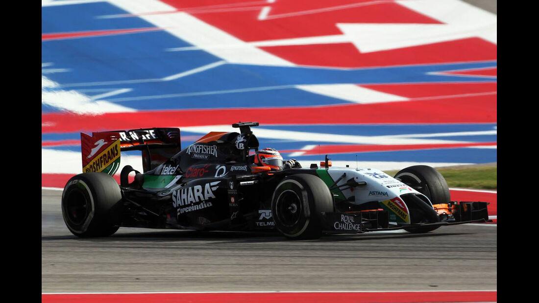 Nico Hülkenberg - Formel 1 - GP USA - 2. November 2014