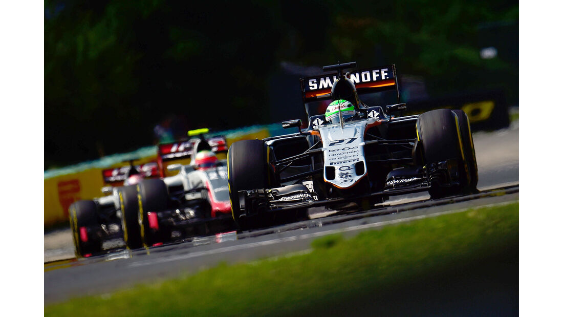 Nico Hülkenberg - Formel 1 - GP Ungarn 2016