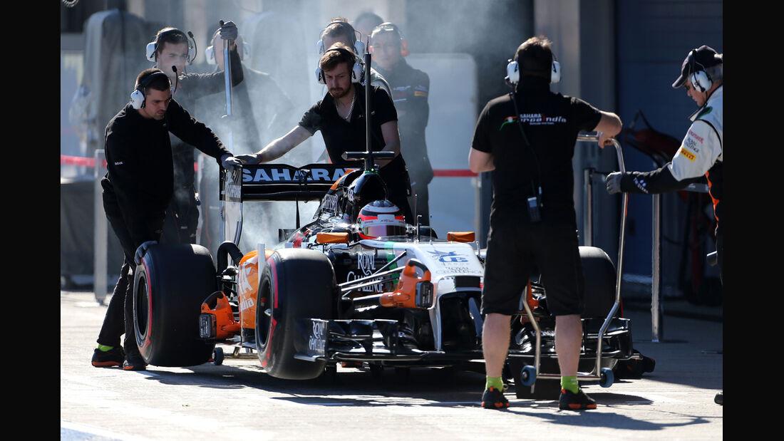 Nico Hülkenberg - Formel 1 - Jerez-Test 2014