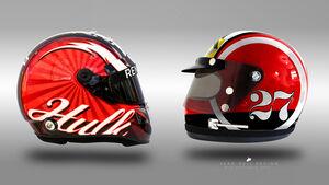 Nico Hülkenberg - Formel 1 - Retro-Helme - Sean Bull - 2018