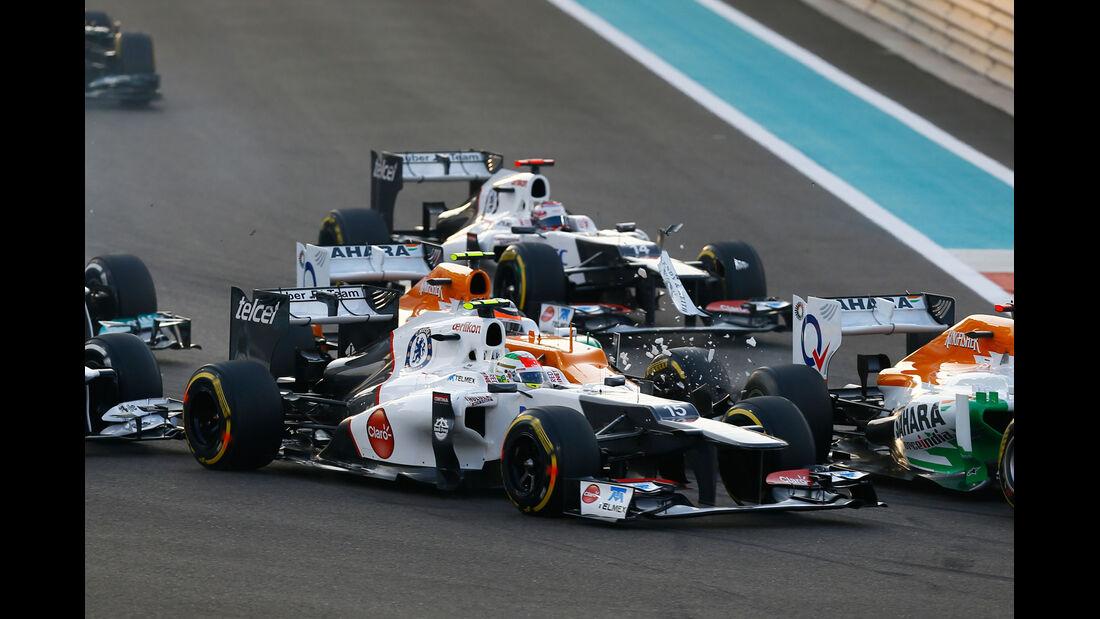 Nico Hülkenberg GP Abu Dhabi 2012