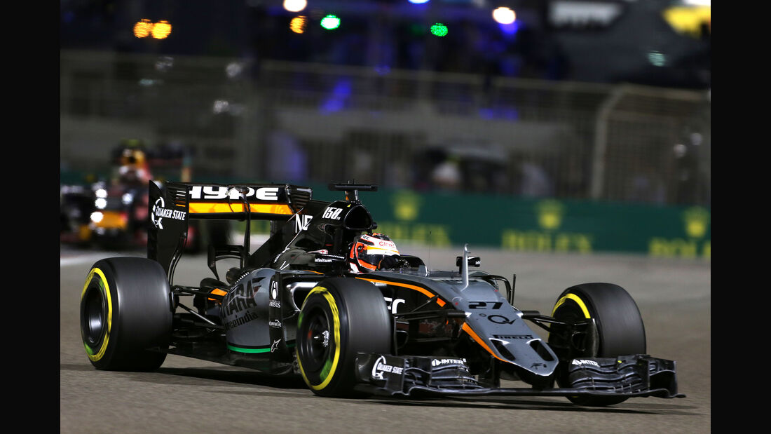 Nico Hülkenberg - GP Abu Dhabi 2015