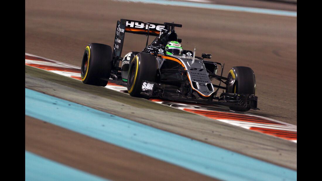Nico Hülkenberg - GP Abu Dhabi 2016