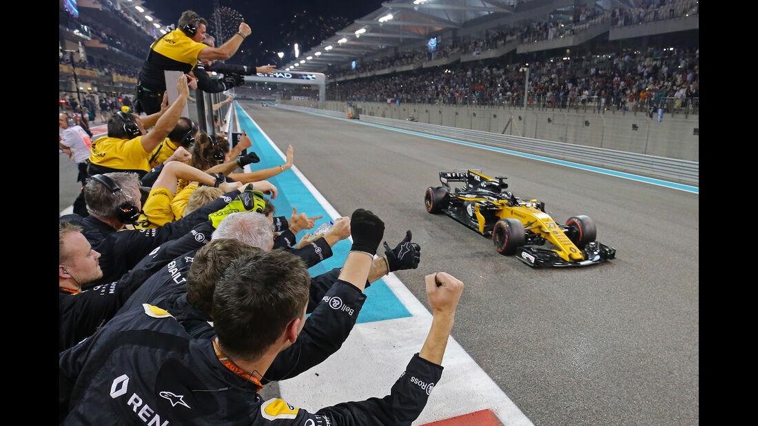 Nico Hülkenberg - GP Abu Dhabi 2017