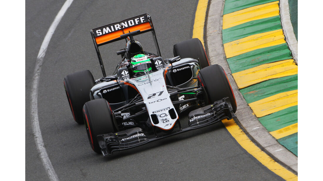 Nico Hülkenberg - GP Australien 2016