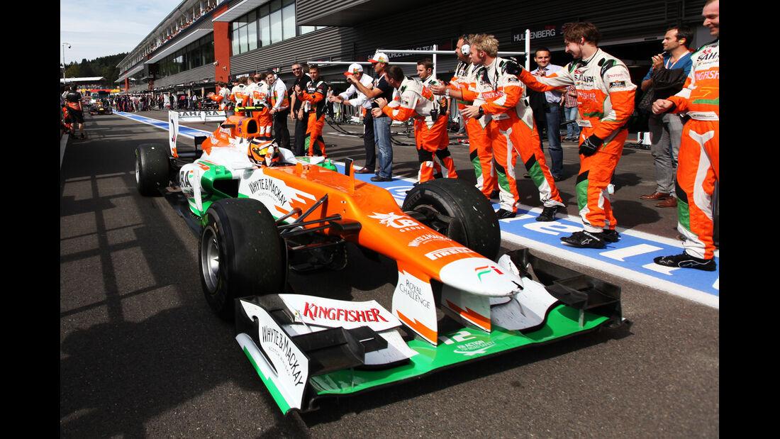 Nico Hülkenberg - GP Belgien 2012