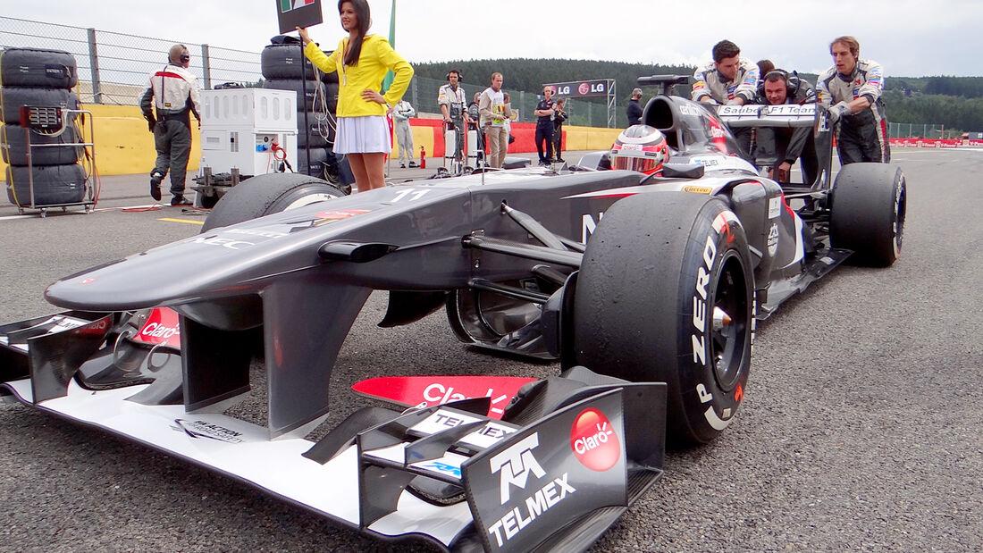 Nico Hülkenberg - GP Belgien 2013