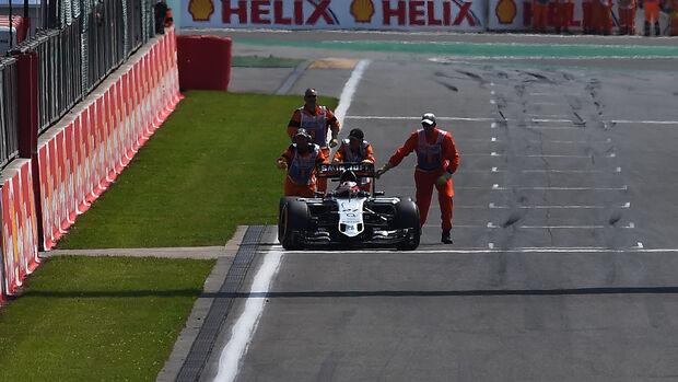 Nico Hülkenberg - GP Belgien 2015
