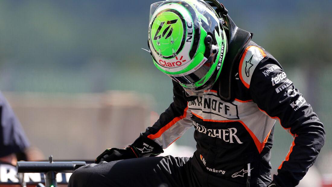 Nico Hülkenberg - GP Belgien 2016