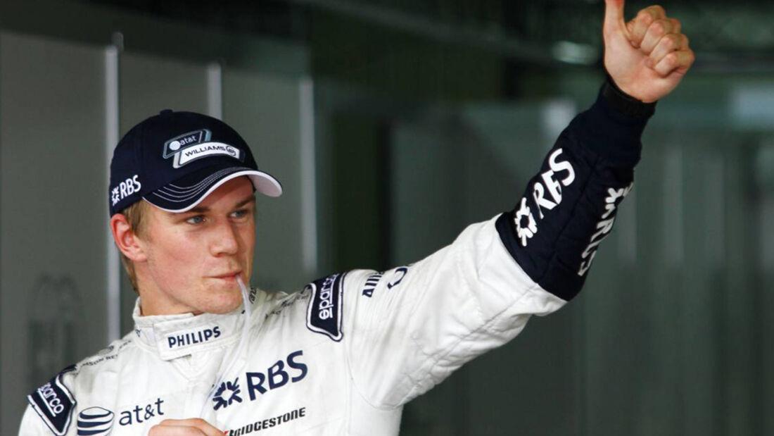 Nico Hülkenberg GP Brasilien 2010
