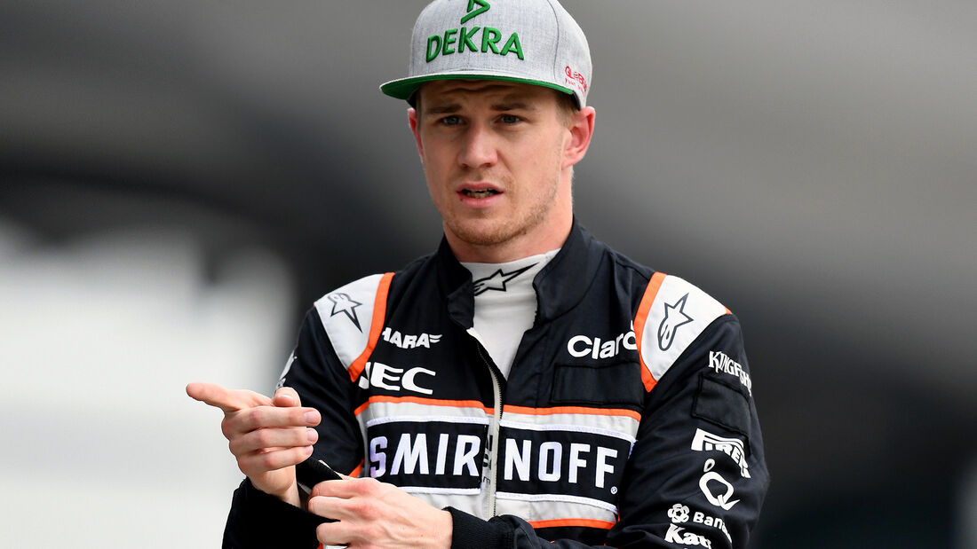 Nico Hülkenberg - GP China 2016