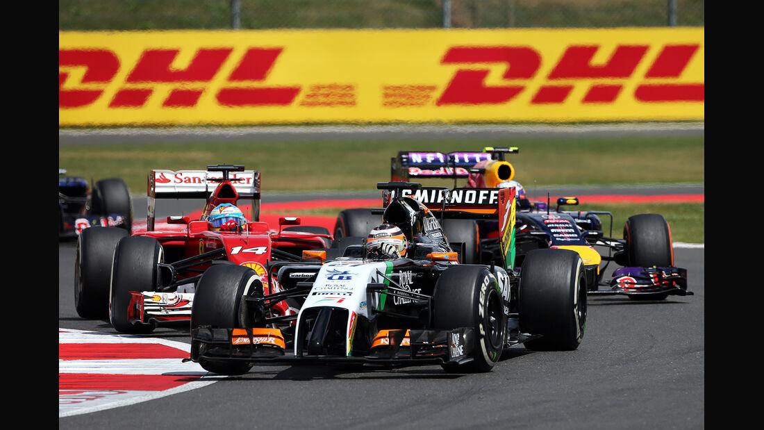 Nico Hülkenberg - GP England 2014