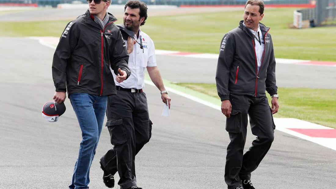Nico Hülkenberg GP England Formel 1 2013