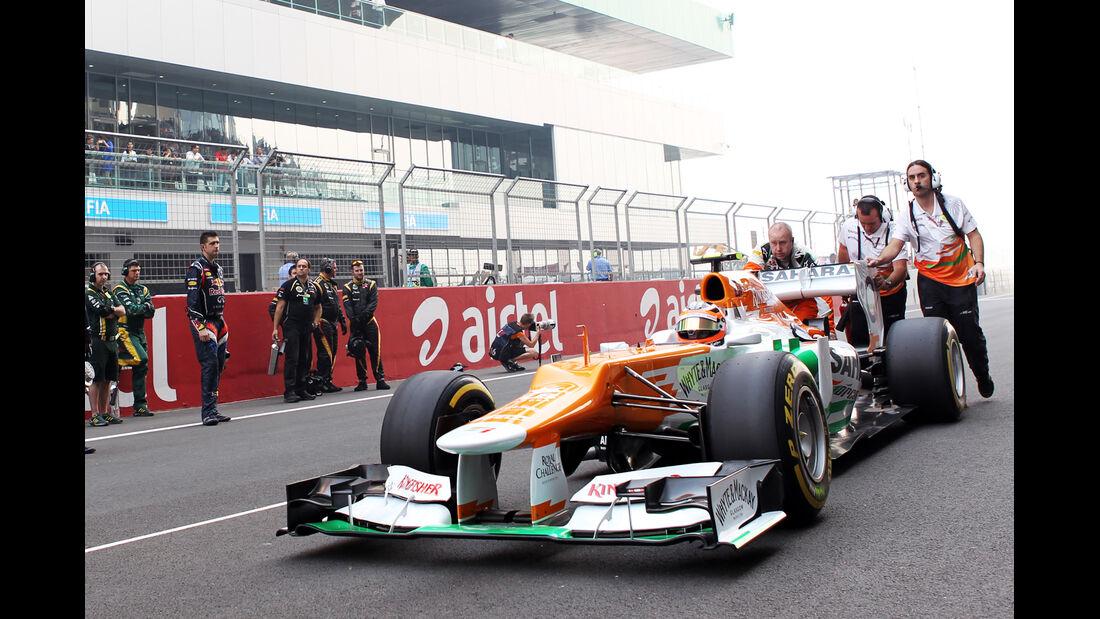 Nico Hülkenberg GP Indien 2012