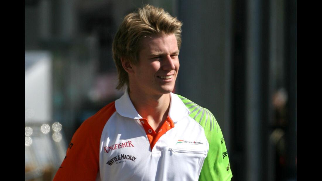 Nico Hülkenberg - GP Japan - Suzuka - 6. Oktober 2011