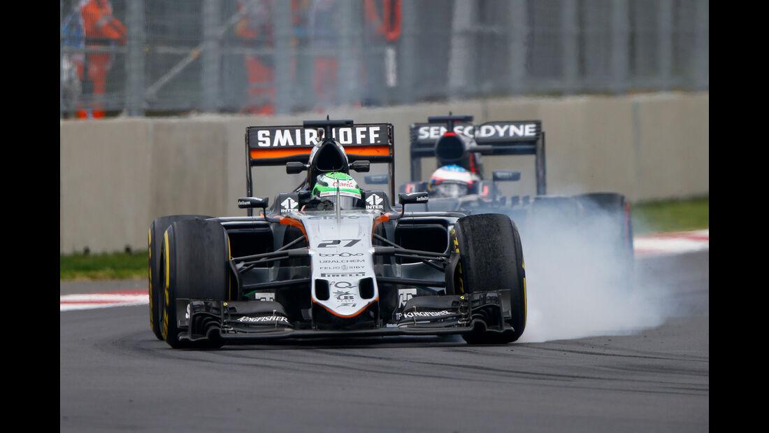 Nico Hülkenberg - GP Mexiko 2016