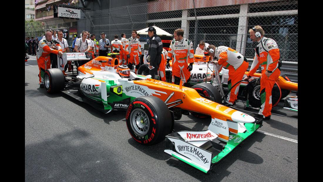 Nico Hülkenberg - GP Monaco 2012