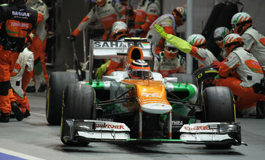 Nico Hülkenberg GP Singapur 2012
