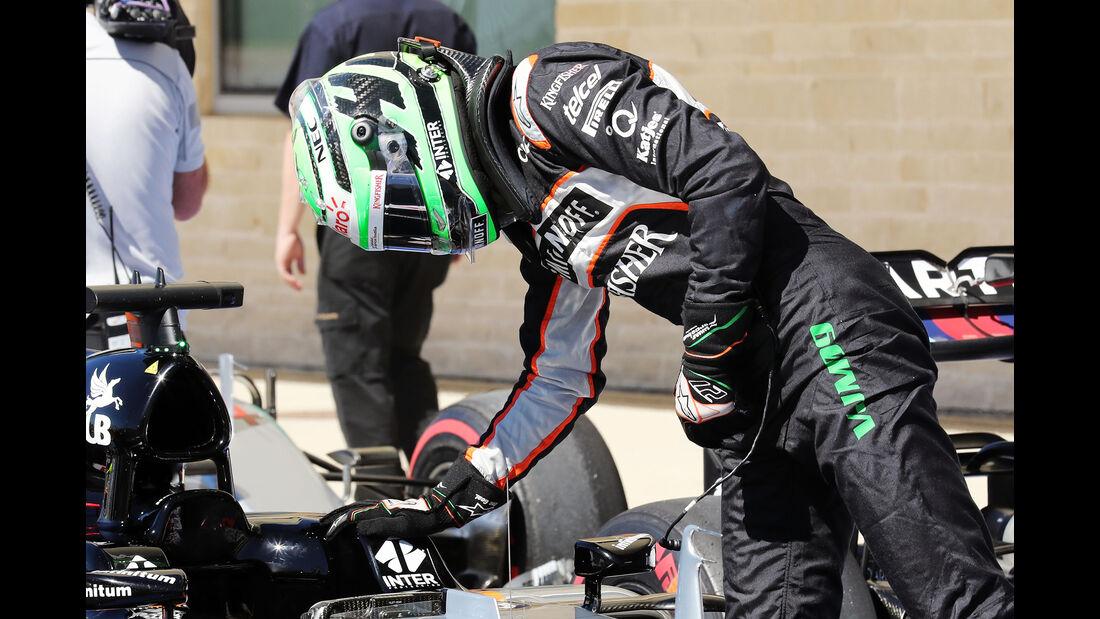 Nico Hülkenberg - GP USA 2016