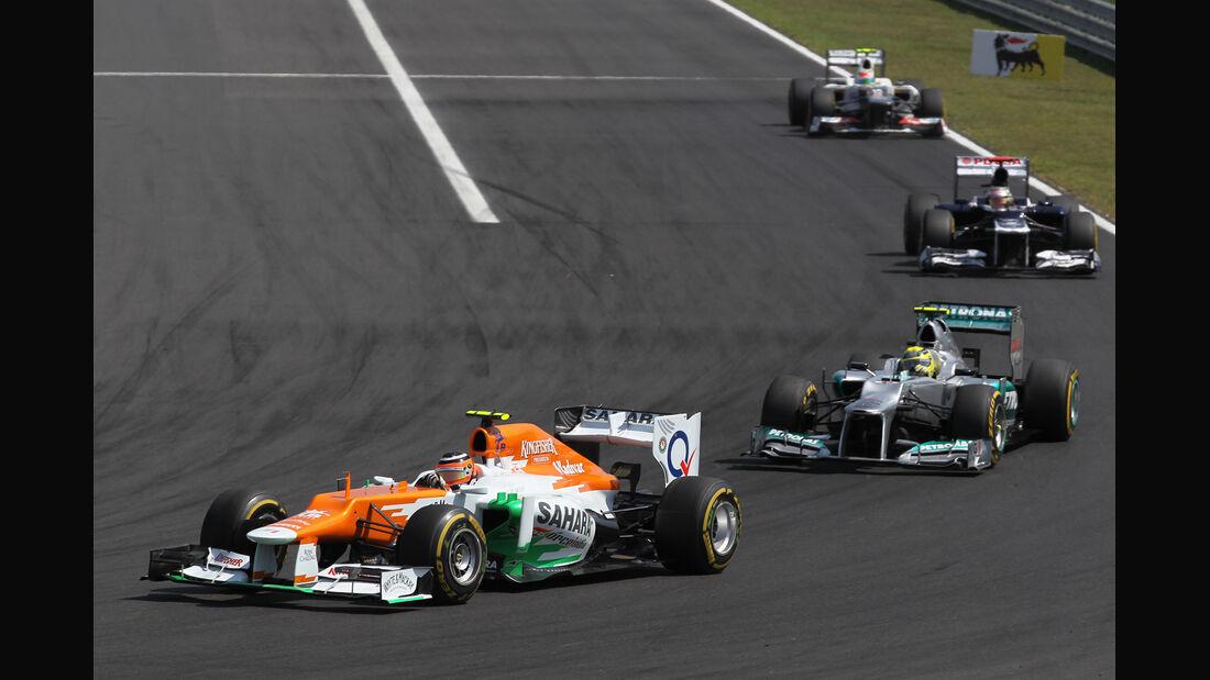 Nico Hülkenberg GP Ungarn 2012