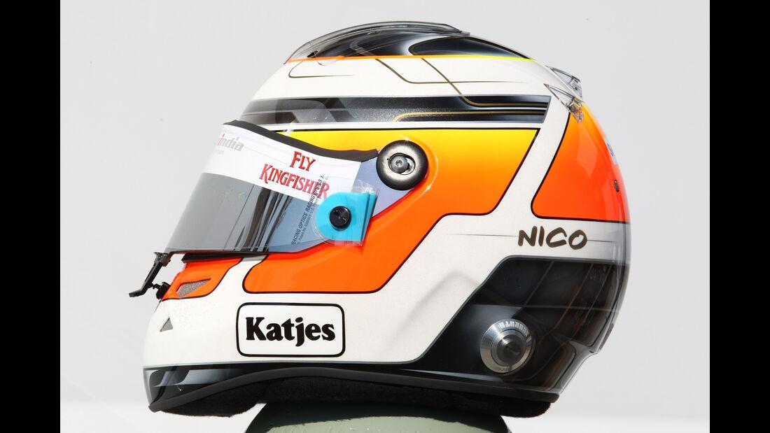 Nico Hülkenberg - Helm - 2011