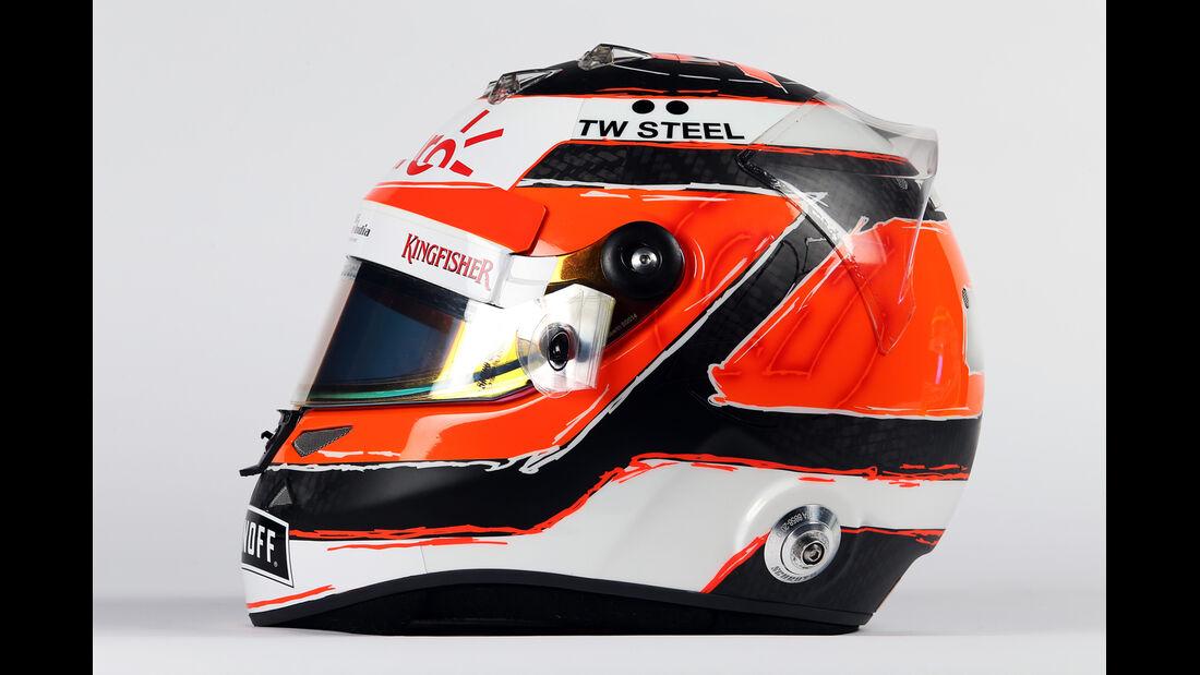 Nico Hülkenberg - Helm  - Formel 1 - 2015