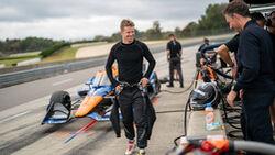 Nico Hülkenberg - IndyCar-Test - 25.10.2021 - McLaren