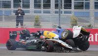 Nico Hülkenberg - Marcus Ericsson - GP Russland 2015 - Sochi - Rennen