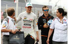Nico Hülkenberg & Monisha Kaltenborn - Formel 1 - GP Monaco - 22. Mai 2014